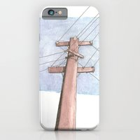 iPhone & iPod Case featuring In a Network of Lines that Intersect by Matt McTaggart