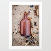 Dead Horse Bottle 3 Art Print