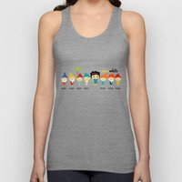 Snow White and the 7 dwarfs Unisex Tank Top
