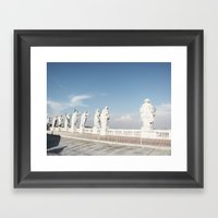 Standing There - The Cup… Framed Art Print