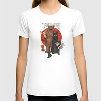 Dans La Forêt Womens Fitted Tee White SMALL