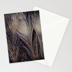 White Peacock Dream Stationery Cards