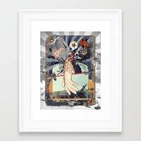 MINGA   touch(v.) Framed Art Print