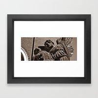 the grace Framed Art Print