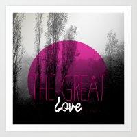 The Great Love - Romanti… Art Print
