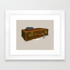 LOST Luggage / Sawyer Framed Art Print