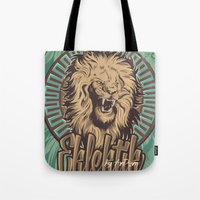 Lion print Tote Bag