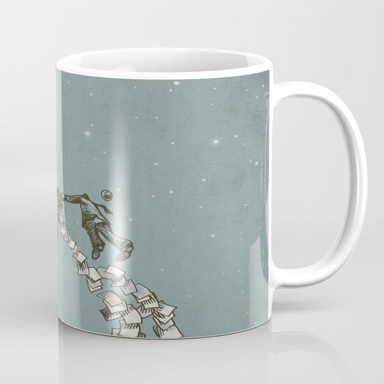 Flight of the Salary Men (color option) Mug