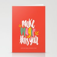 Make Magic This Year Stationery Cards