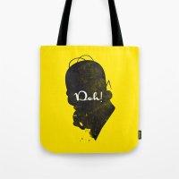 Doh – Homer Simpson Si… Tote Bag