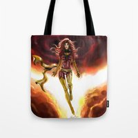 X-men-Phoenix... Tote Bag
