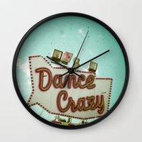 Dance Crazy Wall Clock