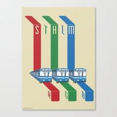 STHLM RGB Canvas Print