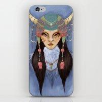 Mongolian Princess iPhone & iPod Skin
