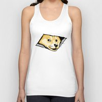 Ceiling Doge Unisex Tank Top