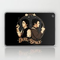 Duel in Space Laptop & iPad Skin