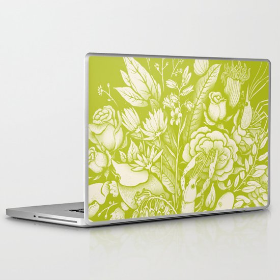 Undersea Victorian - vivid Laptop & iPad Skin