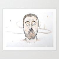 Sickly Fellow Art Print