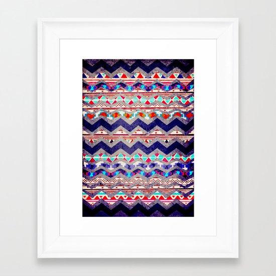 TRIBAL MIND Framed Art Print