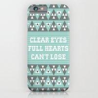 Clear Eyes Full Heart Ca… iPhone 6 Slim Case