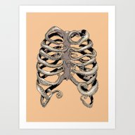 Your Rib Is An Octopus Art Print