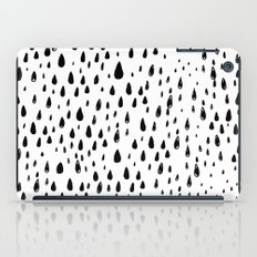 Polka rain drops iPad Case