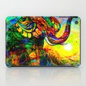 """"""" The old elephant knows where to find some water. """" iPad Case"""