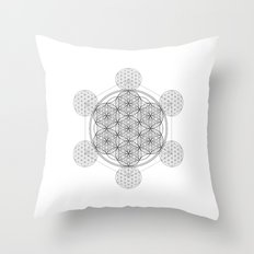 Infinity - The Sacred Geometry Collection Throw Pillow