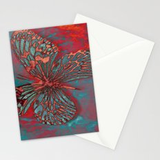 WATER FIRE AND BUTTERFLIES Stationery Cards
