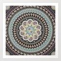 Mandala Paisley Art Print