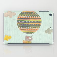 Bear in the air iPad Case