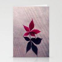 my shadow Stationery Cards