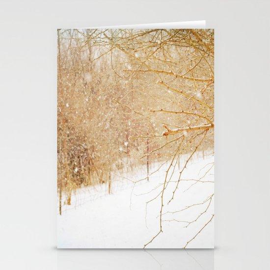 Snow Stationery Card