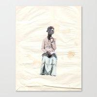 Smoker Camel   Habana Canvas Print
