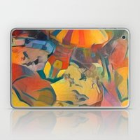 abstract Carnival ride Laptop & iPad Skin