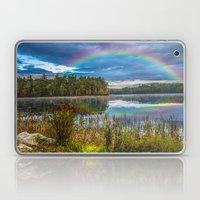 Rainbow Over The Marsh Laptop & iPad Skin