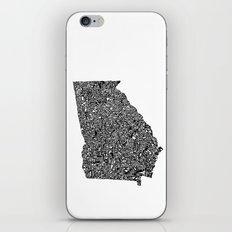 Typographic Georgia iPhone & iPod Skin