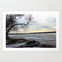 Frost Art Print