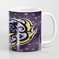 Digital Abstract Graffit… Mug