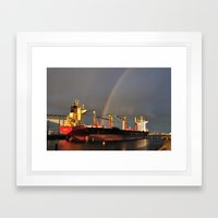 Cargo Fleet Framed Art Print