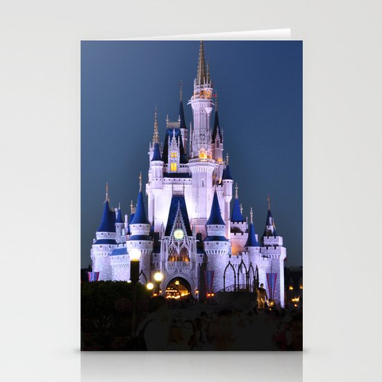 Cinderella's Castle II Stationery Card