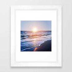 BEACH DAYS IX Framed Art Print