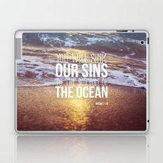 Micah 7:19 Laptop & iPad Skin