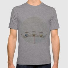 Oh God, am I dreaming? Mens Fitted Tee Athletic Grey SMALL