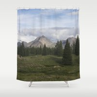 Molas Lake Shower Curtain