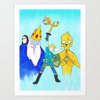 The Legend Of Bubblegum:… Art Print