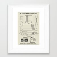 Entertainment System (li… Framed Art Print