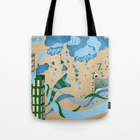 It's Raining Its Pouring Tote Bag