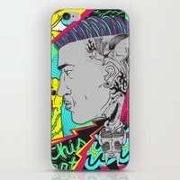 kiss my scalp iPhone & iPod Skin