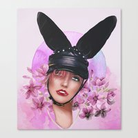Hunny Bunny Canvas Print